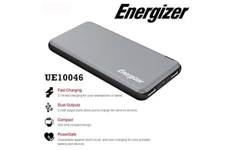 شارژر همراه انرجایزر مدل UE10046 ظرفیت 10000میلی آمپرساعت 1
