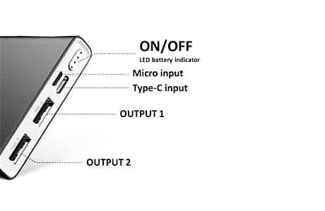 شارژر همراه ریمکس مدل RPP-149 ظرفیت 10000میلی آمپر ساعت 2
