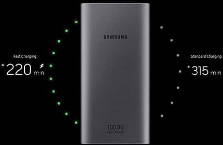 شارژر همراه سامسونگ مدل EB-P1100 microUSB ظرفیت 10000 میلی آمپر ساعت 1
