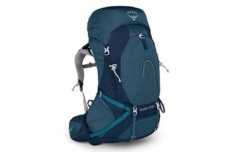 کولهپشتی کوهنوردی 50 لیتری آسپری مدل اورا AG 50 سایز WS