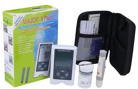 دستگاه تست قند خون ماژور 2 پلاس کد i10