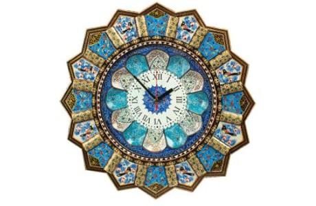 ساعت دیواری مدل خورشیدی کد 43-2