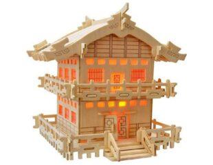 15 پازل چوبی سه بعدی ظریف و زیبا
