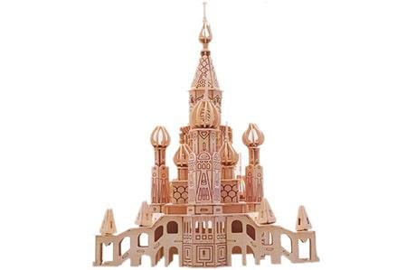 پازل چوبی سه بعدی ژیکوباو مدل سن پترزبورگ
