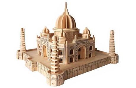 پازل چوبی سه بعدی رایا مدل تاج محل
