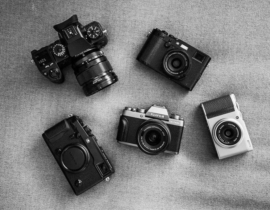 انواع دوربین دیجیتال عکاسی