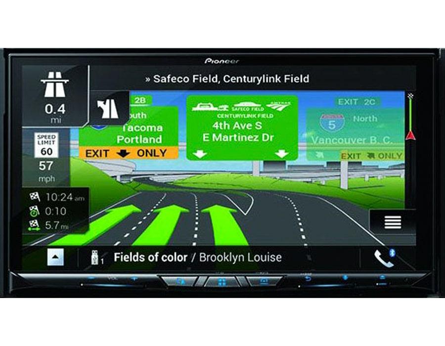 پخش صوت دارای GPS و مسیریاب