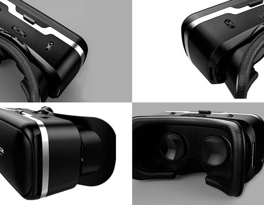 راهاندازی و کیفیت لنز هدست واقعیت مجازی شاینکن