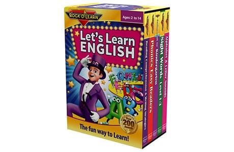 بسته آموزش زبان انگلیسی RockNLearn Lets Learn English انتشارات نرمافزاری افرند
