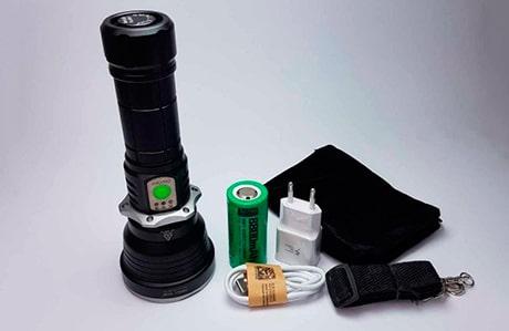 چراغ قوه دستی اسمال سان مدل ESE-SM900