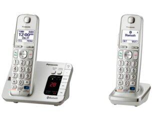 12 مدل تلفن بیسیم پاناسونیک با دو گوشی و قابلیت کنفرانس